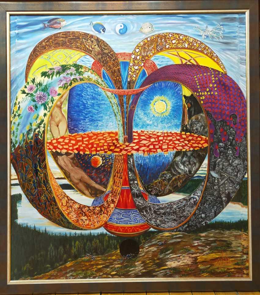 """Alexey Glumov. """"Meditation. Aspect 8 of the worlds"""" - photo 1"""