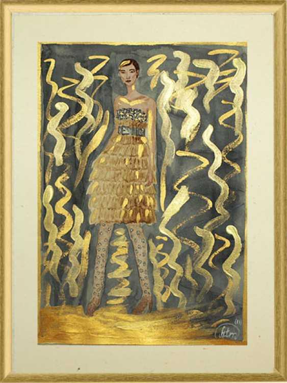 "Tatiana Iurasova. Fashion illustration ""Shine catwalk"" - photo 1"