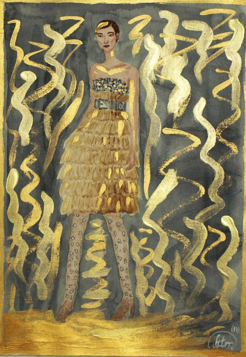 "Tatiana Iurasova. Fashion illustration ""Shine catwalk"" - photo 2"