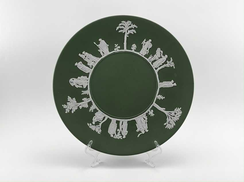 """Dish Wedgwood """"Antique"""". Neo-classicism, England, biscuit porcelain, handmade. 1970 -1974 - photo 1"""