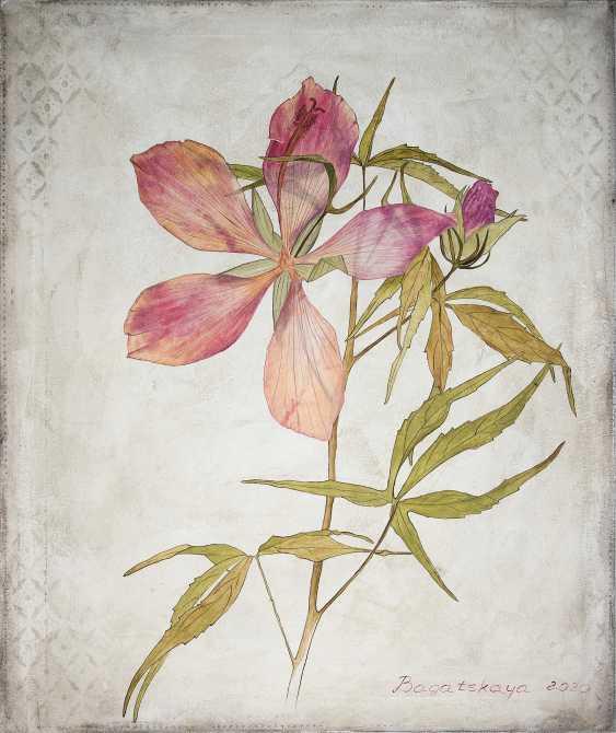 Nataliia Bahatska. The Flower of a Gibiscus - photo 1
