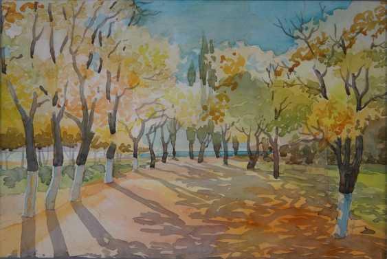 Aleksandr Zgursky. Autumn. - photo 1