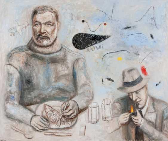 """tamara mamaeva. """"Hemingway und der Fisch"""" - Foto 1"""