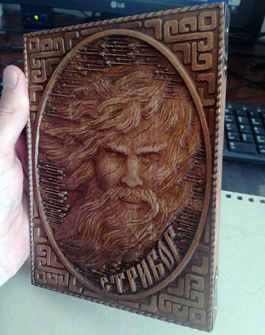 Sergey Anikin. Ancient Slavic God Stribog | The ancient Slavic god Stribog - photo 2