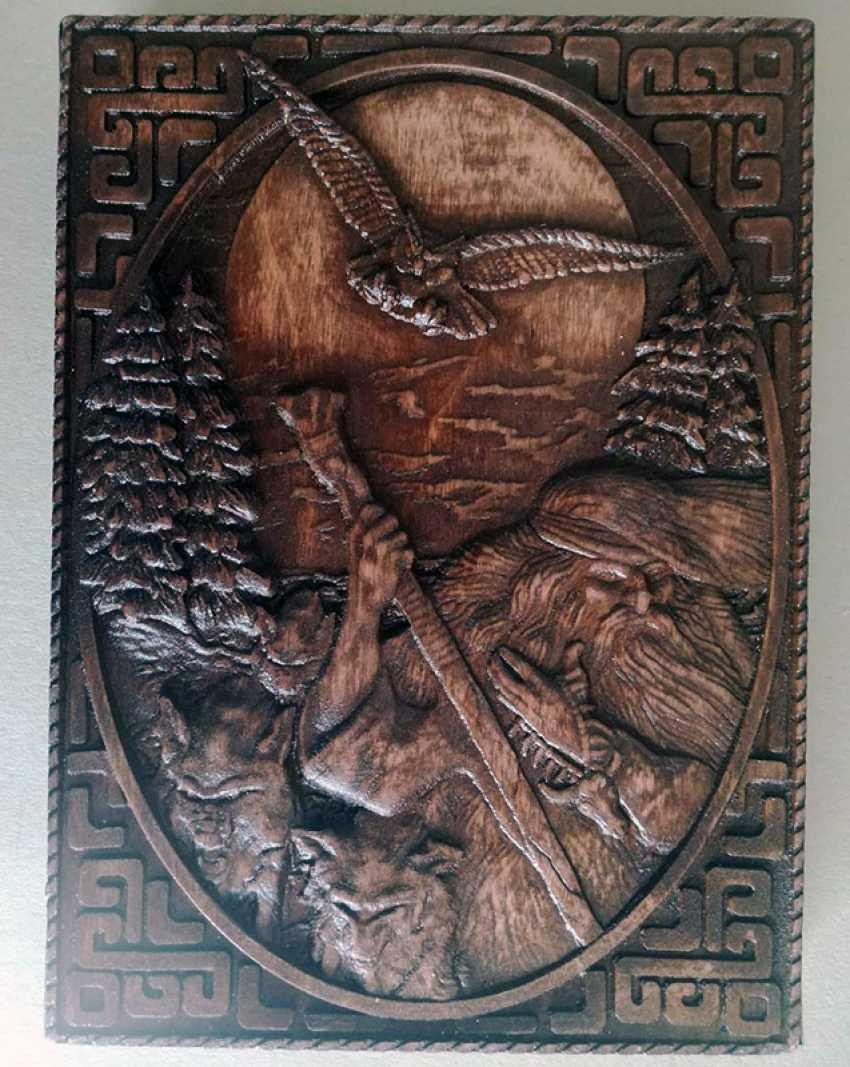 Sergey Anikin. Ancient Slavic God Chernobog | Ancient Slavic god Chernobog - photo 1