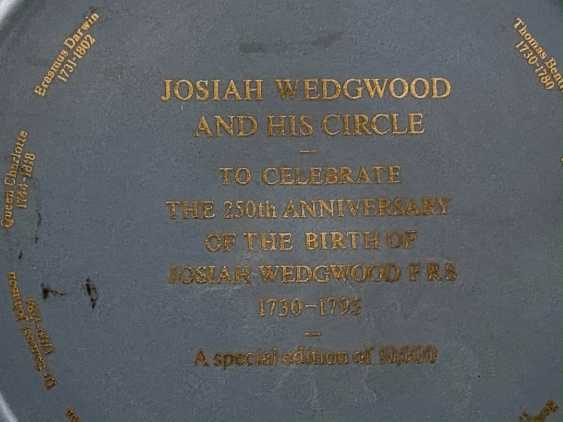 """Dish Wedgwood """"Josiah"""". Neo-classicism, England, biscuit porcelain. 1980 - photo 4"""