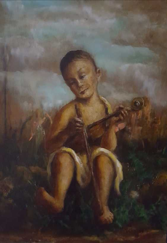 Yurij Kavkazskij. The boy with the violin - photo 1