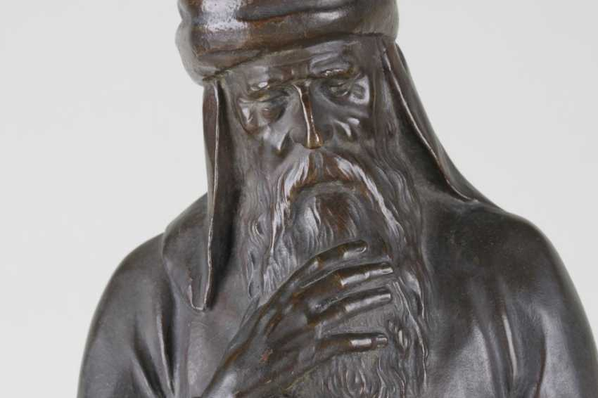 """The Sculpture """"Nathan The Wise"""". - photo 3"""