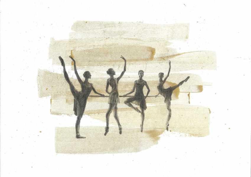 Natasha Mishareva. Ballet, le ballet, le ballet... le Dessin, les travaux manuels, 2020г Auteur - Мишарева Natalia - photo 1