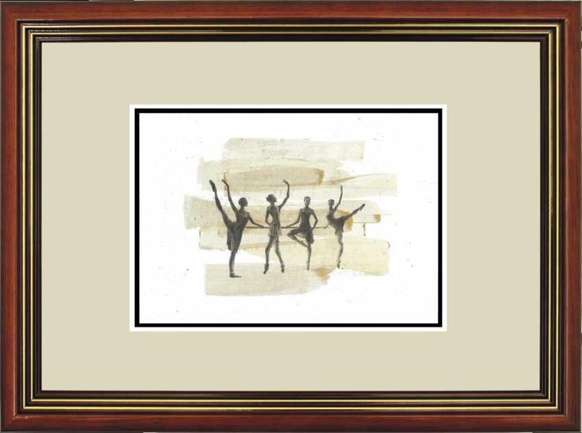 Natasha Mishareva. Ballet, le ballet, le ballet... le Dessin, les travaux manuels, 2020г Auteur - Мишарева Natalia - photo 3