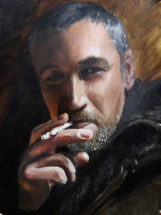 Aleksei Roshchanovskii. winter self-portrait - photo 1