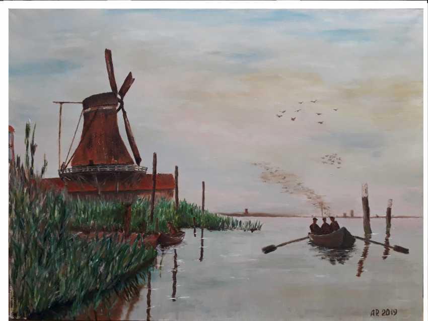 Aleksei Roshchanovskii. Windmill at Zaandam - photo 1