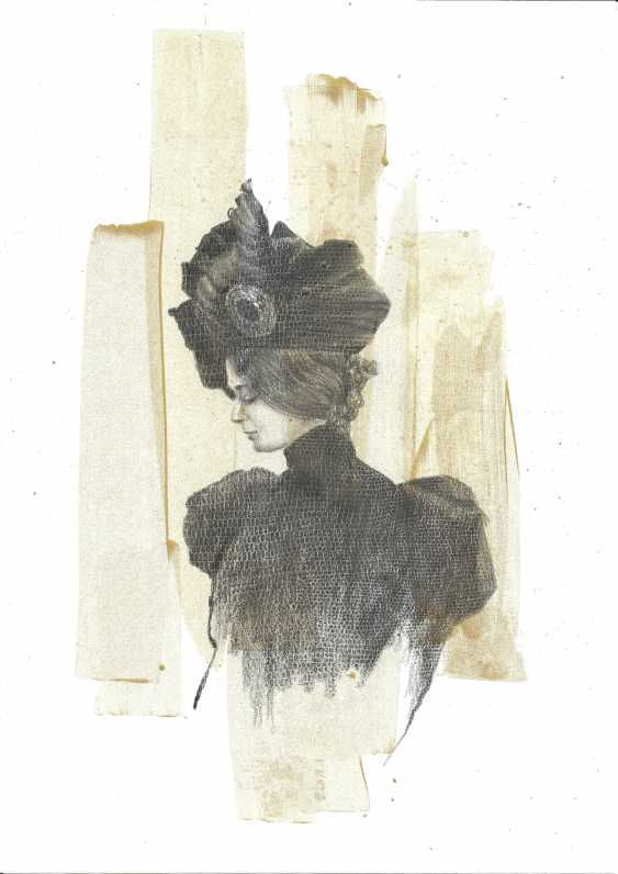Natasha Mishareva. The magnificent century. Drawing, handwork, 2020 Author - Pisareva Natalia - photo 1