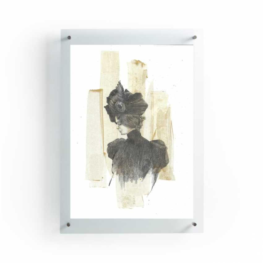 Natasha Mishareva. The magnificent century. Drawing, handwork, 2020 Author - Pisareva Natalia - photo 3