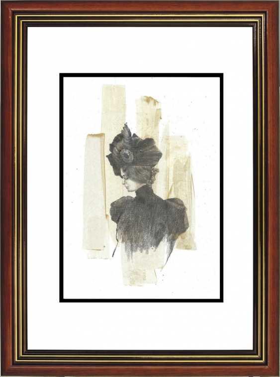 Natasha Mishareva. The magnificent century. Drawing, handwork, 2020 Author - Pisareva Natalia - photo 4