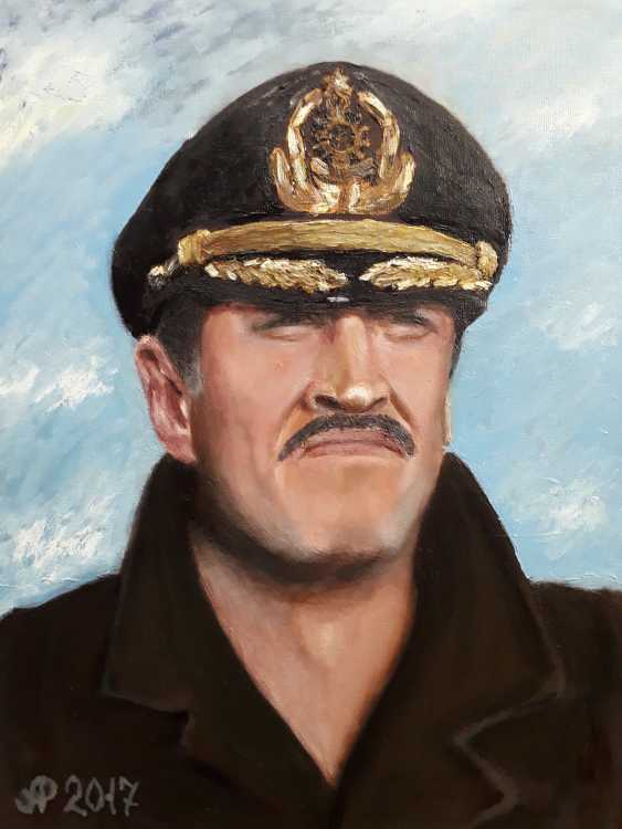 Aleksei Roshchanovskii. Self-portrait in naval uniform - photo 1