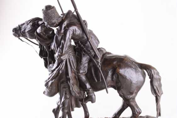 Sculpture the Farewell of a Cossack with Cossack - photo 2