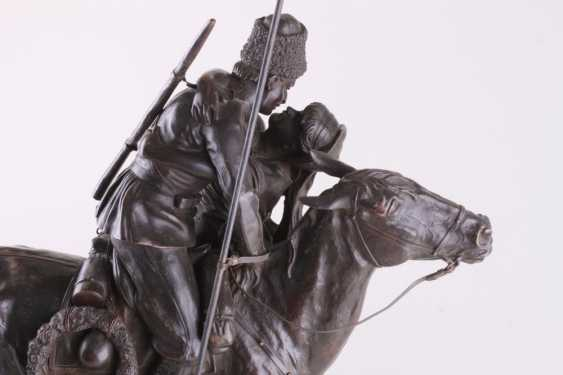 Sculpture the Farewell of a Cossack with Cossack - photo 3