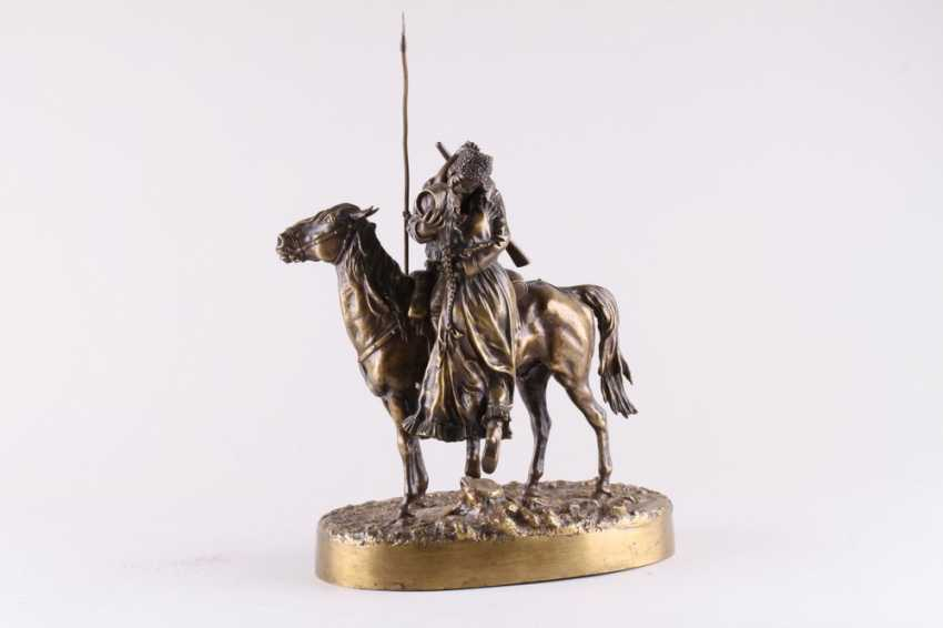 Sculpture the Farewell of a Cossack with Cossack - photo 1