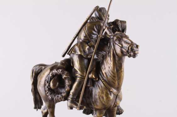 Sculpture the Farewell of a Cossack with Cossack - photo 4