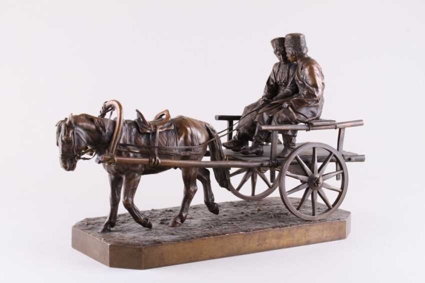 Sculpture of a Young Cossack with Cossack in Voske - photo 1
