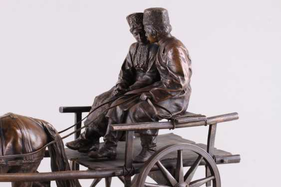 Sculpture of a Young Cossack with Cossack in Voske - photo 2