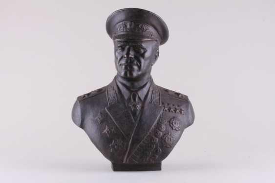 Bust Of Marshal Zhukov - photo 1