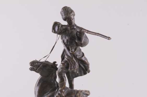 Sculpture the art of riding of the rider of the Circassian - photo 3