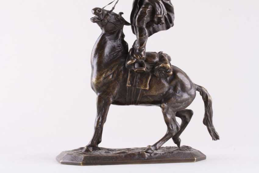Sculpture the art of riding of the rider of the Circassian - photo 4