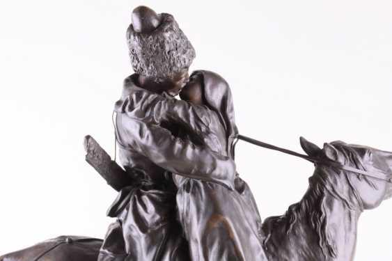 Sculpture Farewell, E. Lanceray - photo 2