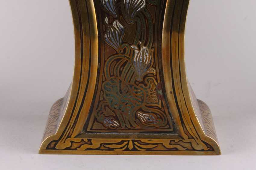 Fireplace set in the art Nouveau style - photo 2