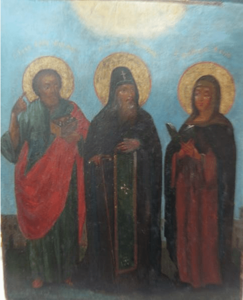 Icon of the Holy Prince Daniel - photo 1