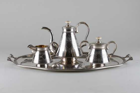 Set in the Russian style silver 84 samples, 1876. - photo 1