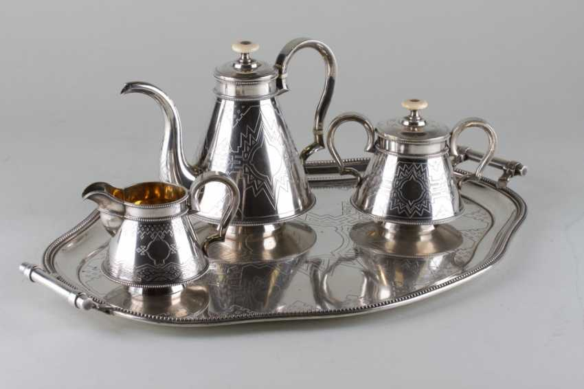 Set in the Russian style silver 84 samples, 1876. - photo 2