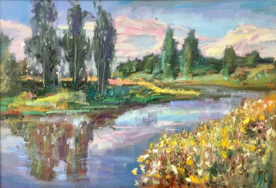 Pavel Tiapugin. Summer. By the river. - photo 1