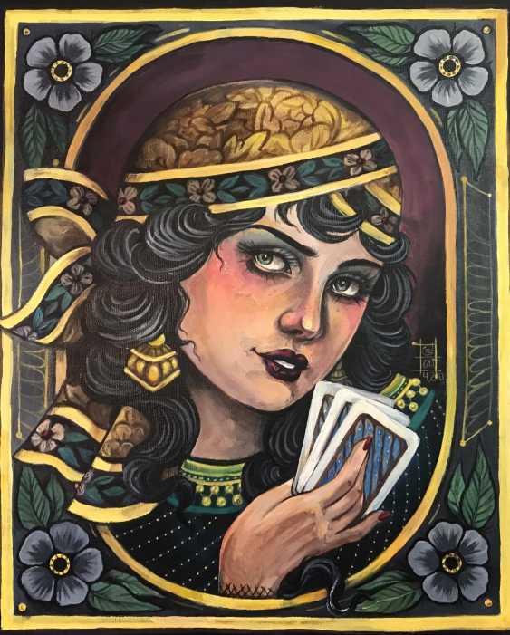 Valeria Chernishova. The girl with the cards - photo 3