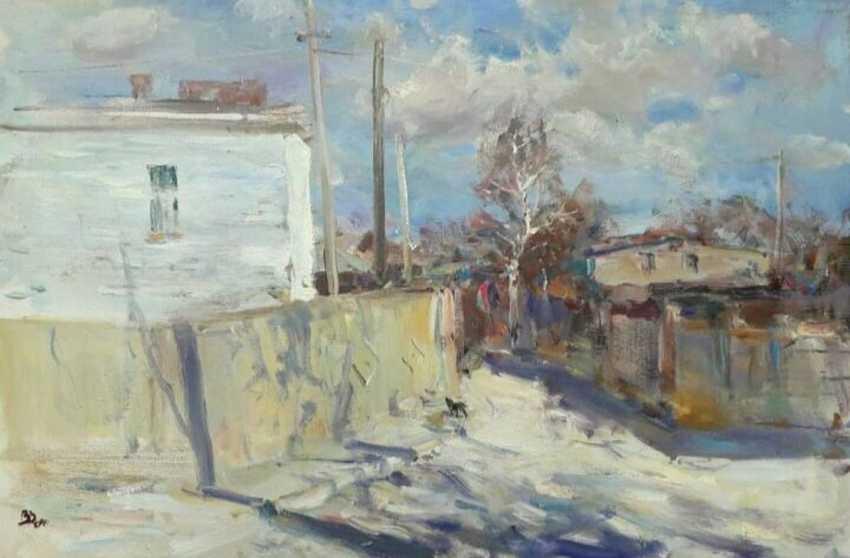 Vladislav Zdor. The April wind - photo 1