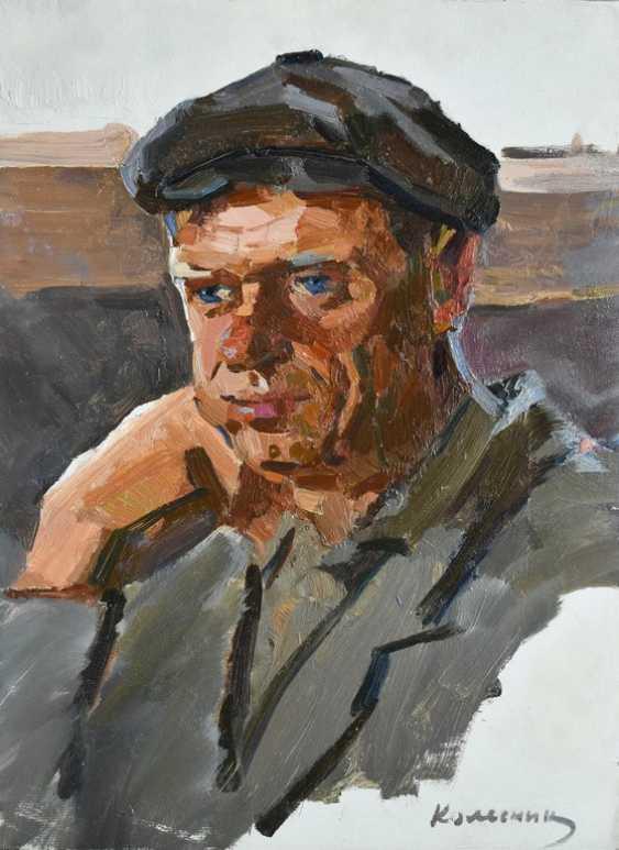 Vladimir Kolesnik. Portrait of a man, the village Sochinka - photo 1