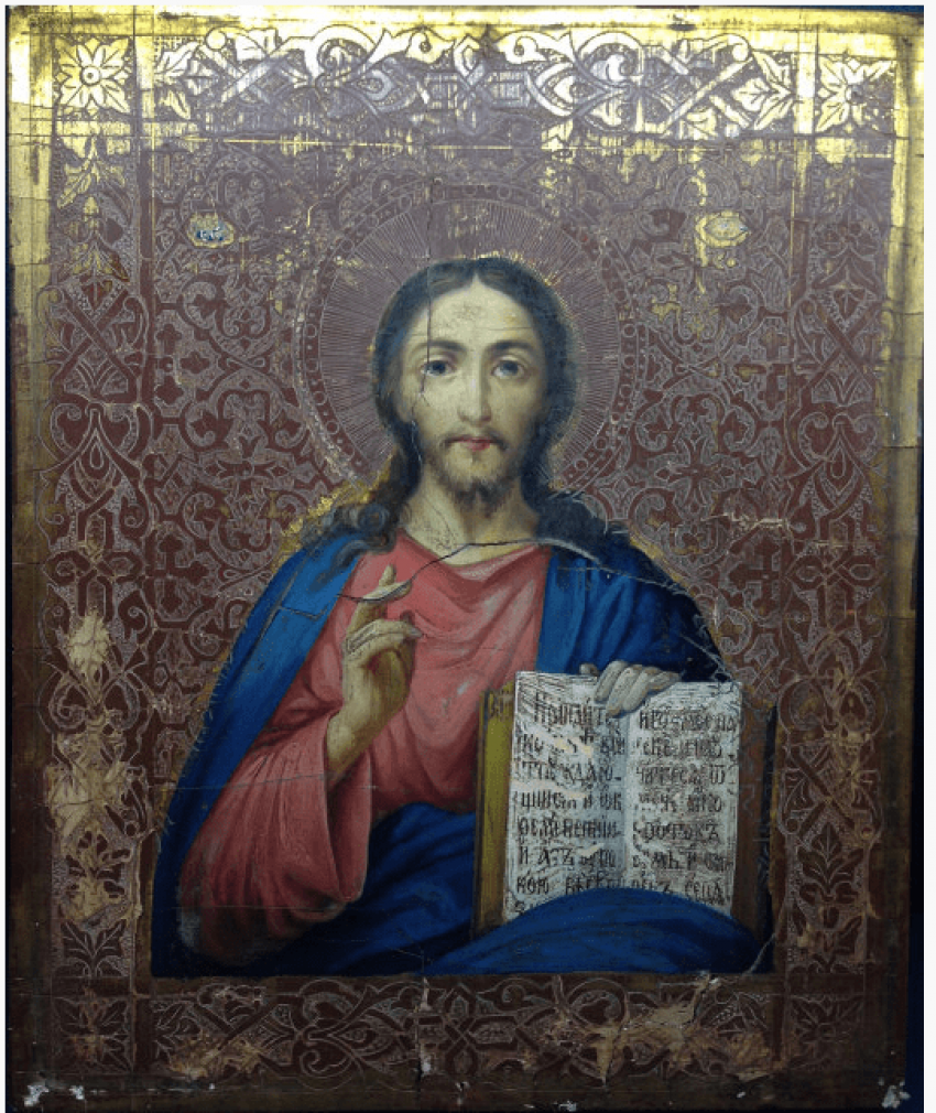 The Icon Of The Lord Almighty. 19th century. - photo 1