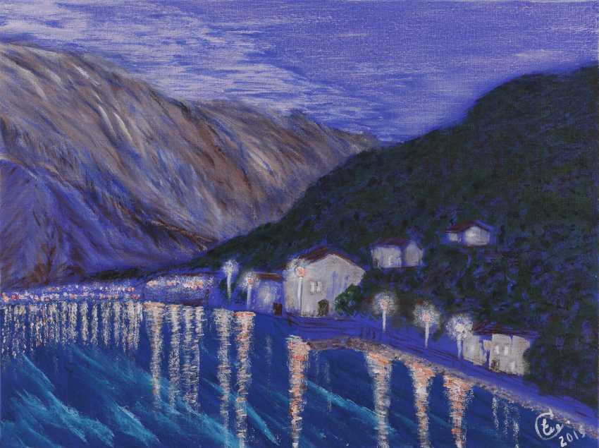 "Elena Smal. ""Stoliv's Lights"", ""Landscapes of Montenegro"" series - photo 1"