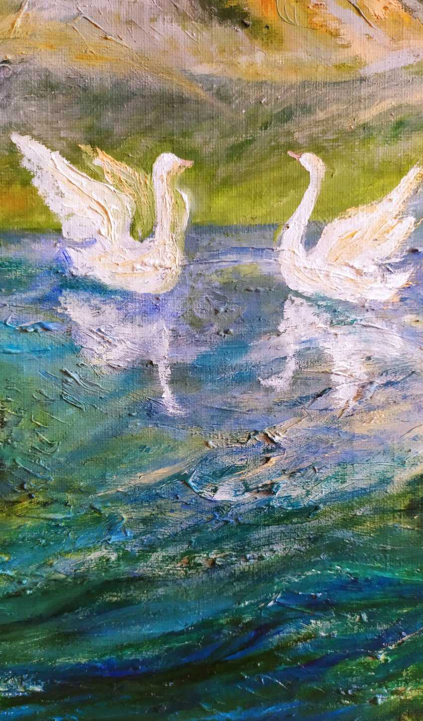 "Elena Filippova. ""Swan song"" -""Song of swans"" - photo 4"