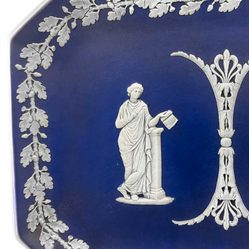 "A Tray Of Wedgwood ""Duet."" Neo-classicism, England, biscuit porcelain, handmade. 1860 - 1891 years. - photo 3"