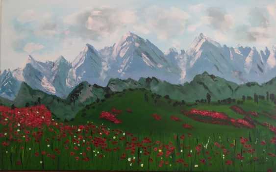 "Liudmila Sadykina. ""Valley of poppies"" - photo 1"