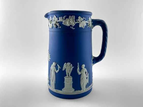 "Jug Wedgwood ""Vine"". Neo-classicism, England, biscuit porcelain, handmade. 1908 - 1929. - photo 1"