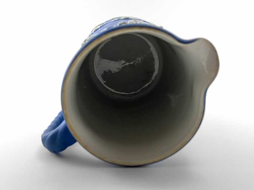 "Jug Wedgwood ""Vine"". Neo-classicism, England, biscuit porcelain, handmade. 1908 - 1929. - photo 3"