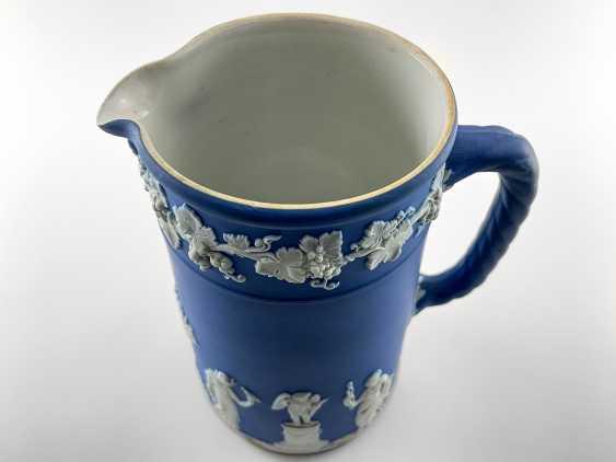 "Jug Wedgwood ""Vine"". Neo-classicism, England, biscuit porcelain, handmade. 1908 - 1929. - photo 4"