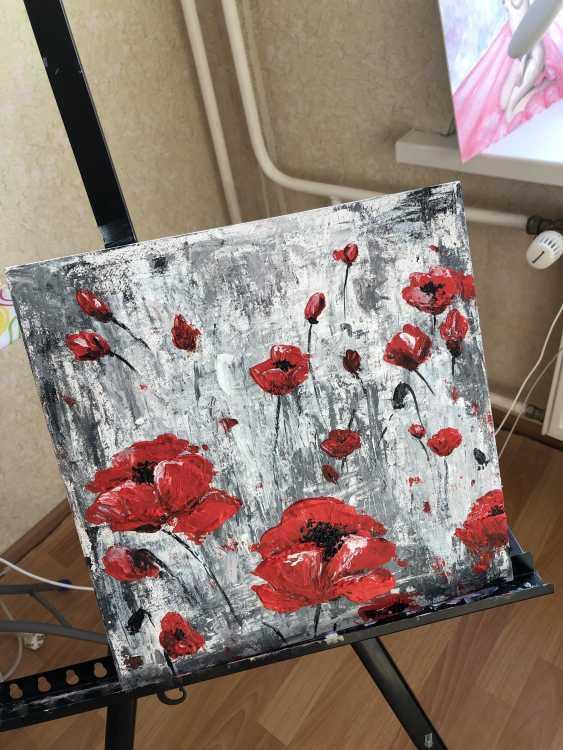 ANASTASIYA BELEVA. Poppy field - photo 1