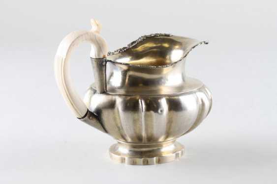 Milk jug silver 84 samples, 1840. - photo 2