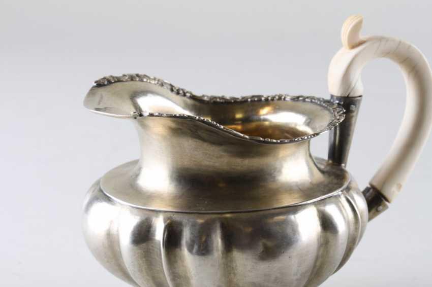 Milk jug silver 84 samples, 1840. - photo 3