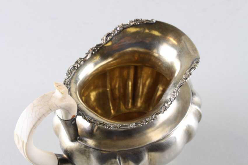 Milk jug silver 84 samples, 1840. - photo 4